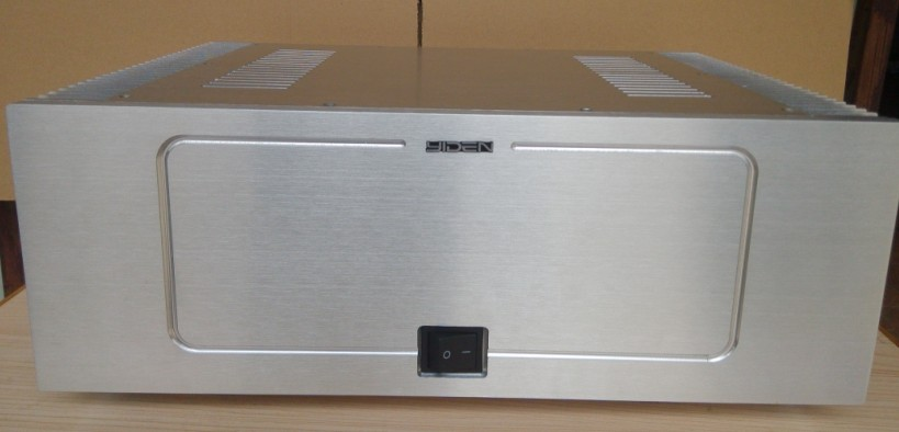 QUEENWAY ARC Series 1 - 3 CNC all aluminum power amplifier Case  Chassis 430*315*150mm 430mm*315mm*150mm queenway audio 2215 cnc full aluminum amplifier case amp chassis box 221 5mm150mm 311mm 221 5 150 311mm