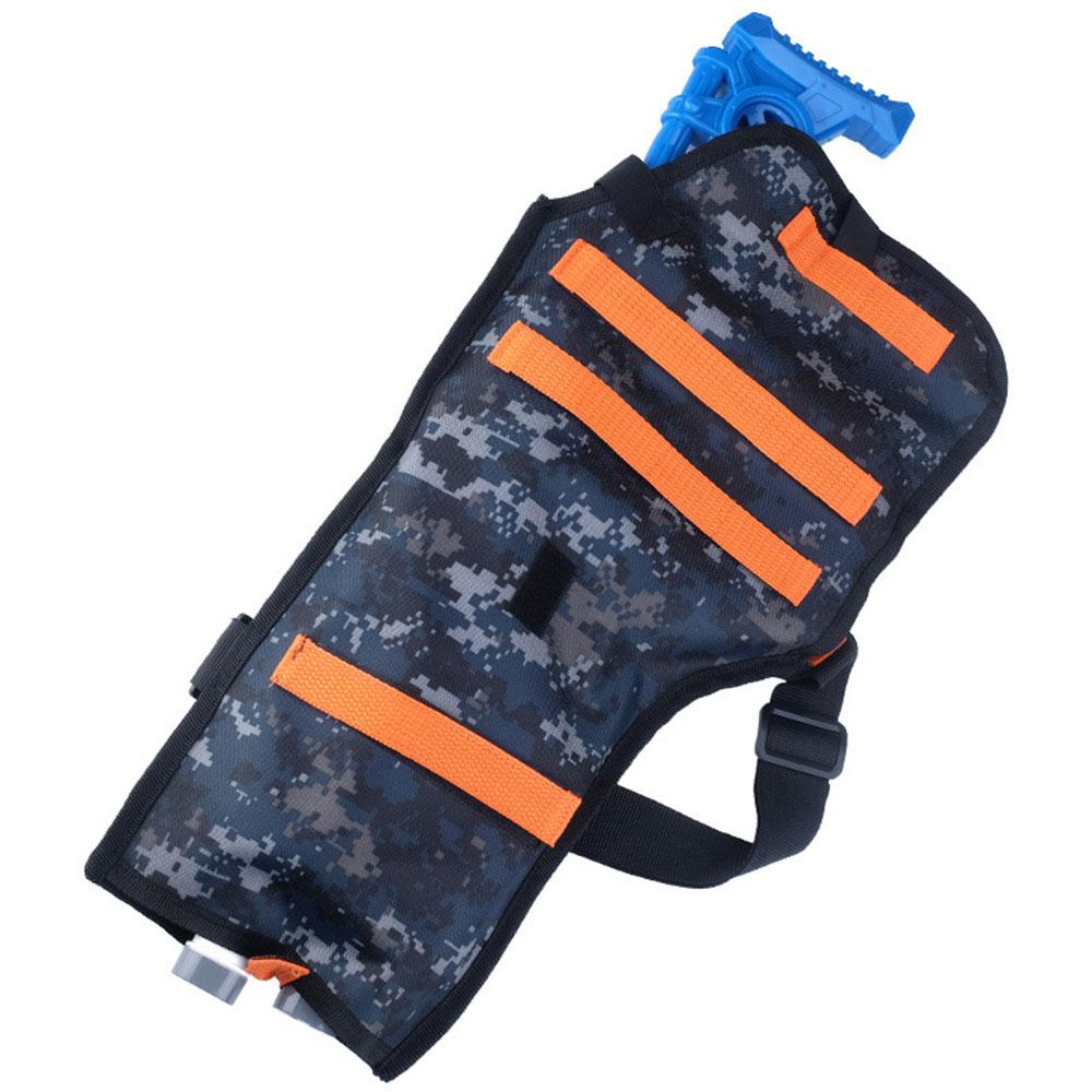 WoSporT Tactical Shooting Nylon Back Holster Pouch Bag Vest Jacket for Nerf Outdoor hunting Accessories