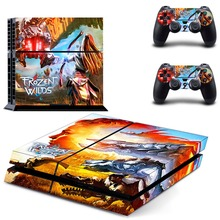 Horizon Zero Dawn PS4 Skin Sticker Decal Vinyl for Sony Playstation 4 Console and 2 Controllers PS4 Skin Sticker
