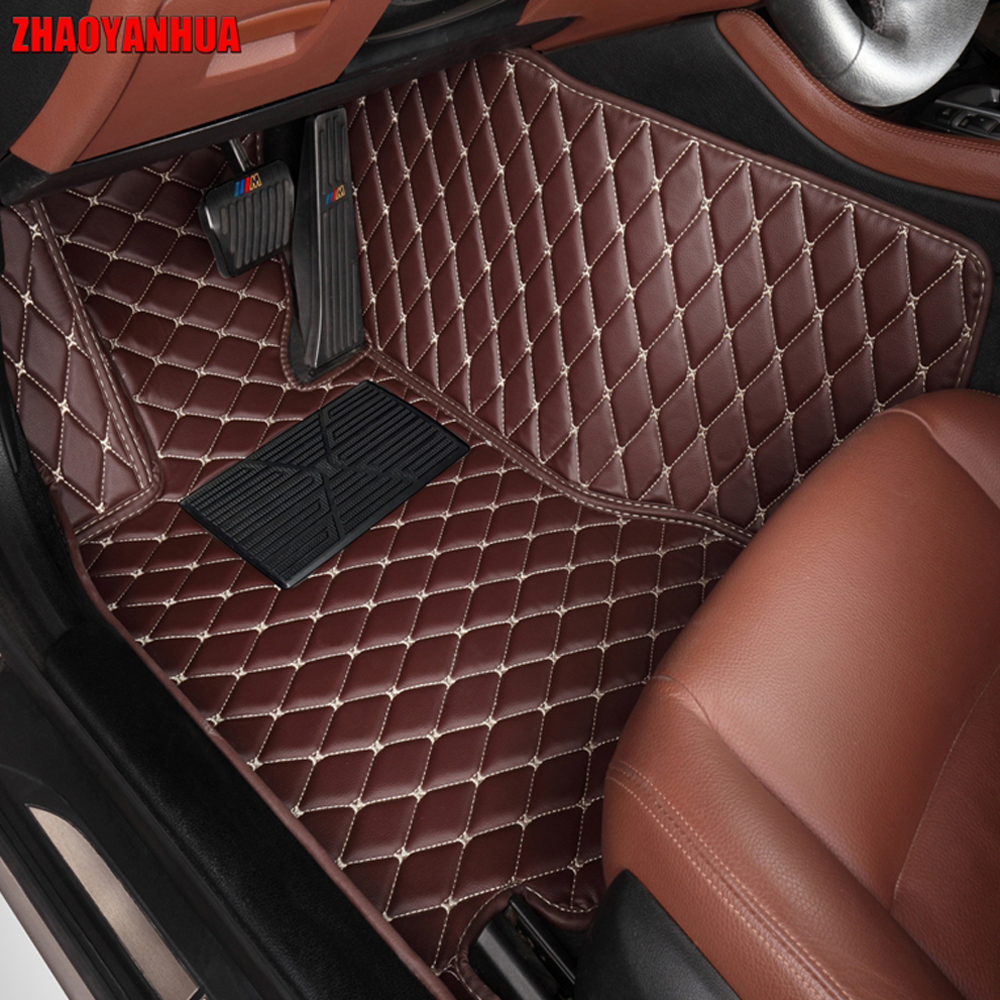 ZHAOYANHUAcar floor mats made for Honda Civic CRV CR-V HRV Accord Crosstour FIT City car-styling carpet rugs case liners (2005-)ZHAOYANHUAcar floor mats made for Honda Civic CRV CR-V HRV Accord Crosstour FIT City car-styling carpet rugs case liners (2005-)