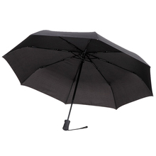 Umbrella Folding Classic Automatic Black for Men and Women