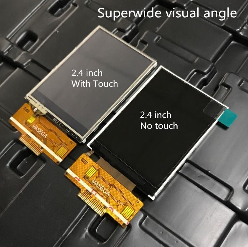 Dynamisch 2,4/2,8/3,2 Zoll Spi Tft Lcd Farbe Bildschirm Ili9341 Fahrer Ic 4 Io 240x320 Display Touch Panel 18pin Schweißen 0,8mm Superwide Optoelektronische Displays