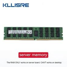 Ddr4 8gb 16gb 4gb memória ram do servidor, 2400 2133mhz ecc reg PC4-2133P 2400t ram