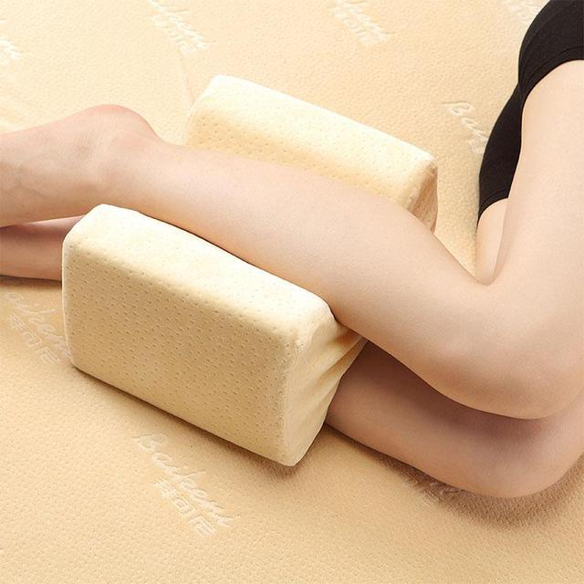 Foot Massage  Knee Pillow Clip Leg Positioner Memory Foam Wedge Slow Rebound Memory Cotton Clamp Massage