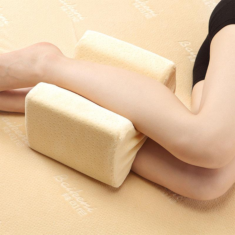 Foot Massage  Knee Pillow Clip Leg Positioner Memory Foam Wedge Slow Rebound Memory Cotton Clamp Massage gel memory pillow for summer health care neck pillow upgrade massage slow rebound memory foam cool breathable comfortable