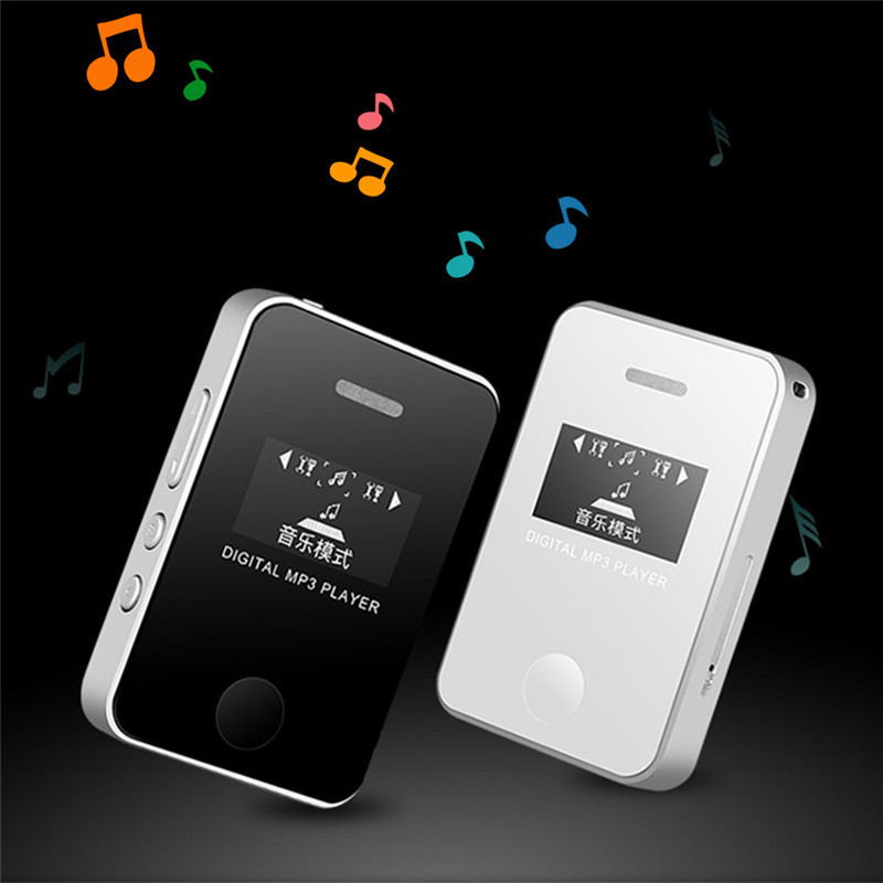 1 inch lcd display mini mp3 music player students sports. Black Bedroom Furniture Sets. Home Design Ideas