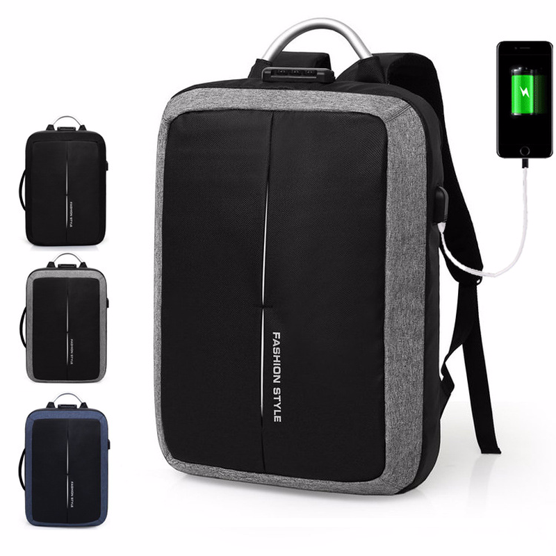 18 New Mark Ryden New Anti-thief Usb Recharging Men Backpack No Key Tsa Lock Design Men Business Fashion Message Backpack Travel