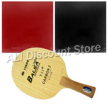 Galaxy Yinhe T-11+ Blade with 2x Globe 999 Supply China National Team Rubbers for a Table Tennis Combo Racket FL(China)