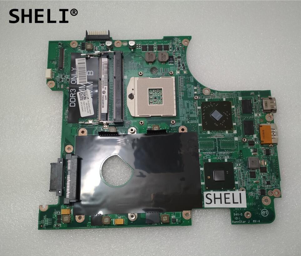 Здесь продается  SHELI For Dell N4010 Motherboard with HD5470 DAUM8AMB8D0 CN-0CG4C1 0CG4C1 CG4C1  Компьютер & сеть