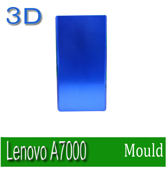 Heat transfer mould Solid Aluminium Alloy 3D heat press Phone case Mould for Lenovo A7000  solid aluminium alloy 3d heat press phone case mould for huawei ascend p6