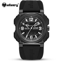 Армейские часы Мужские Цифровые кварцевые мужские s часы лучший бренд класса люкс 2018 водонепроницаемые армейские спортивные тактические
