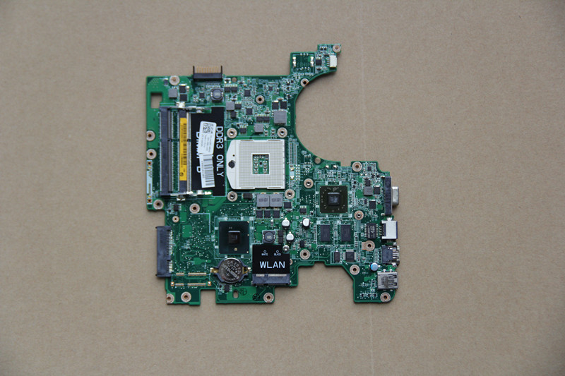 CN-04CCPK 04CCPK 4CCPK For DELL Inspiron 1564 Laptop motherboard DA0UM3MB8E0 with 216-0728020 GPU Onboard HM55 DDR3 fully tested стоимость