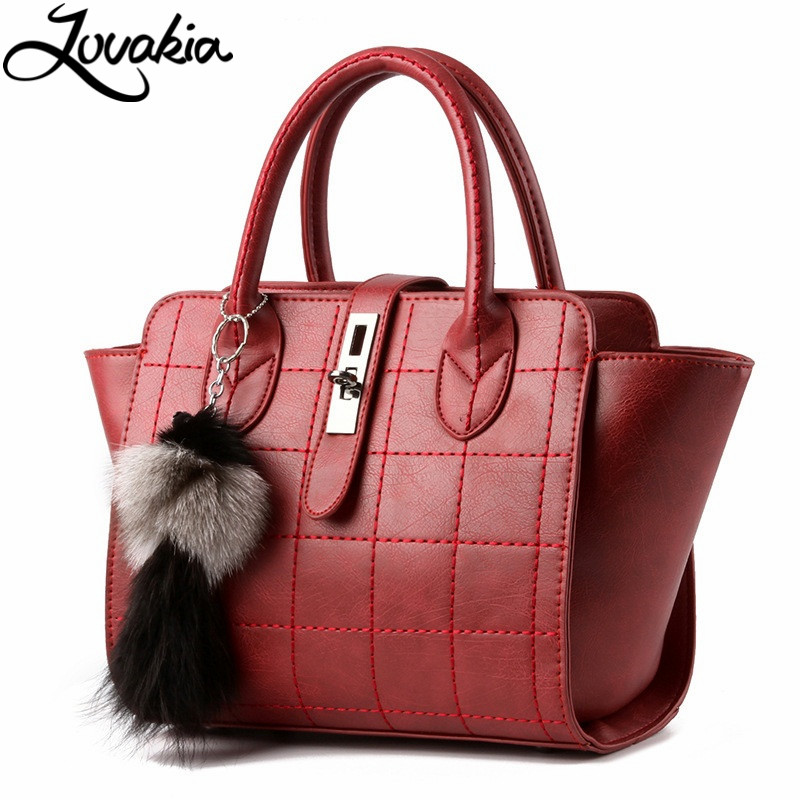 ФОТО New Arrival Vintage Trapeze Tote Women Leather Handbags Ladies Party Shoulder Bags Fashion Top-Handle Bags