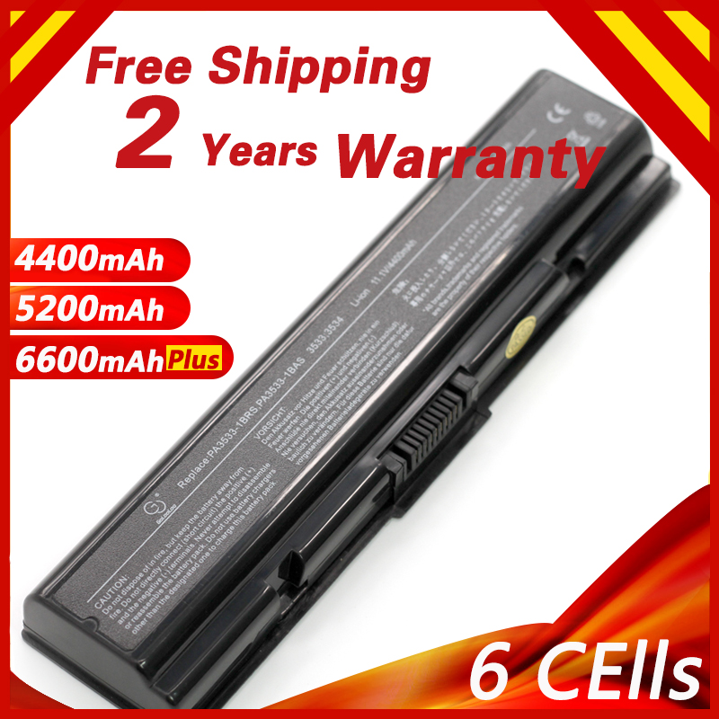 Laptop Battery for <font><b>Toshiba</b></font> Satellite A500 A500D A300 A300D A200 A202 A203 A210 L300 L300D L305D <font><b>L500</b></font> PA3534U-1BAS PA3534U-1BRS image