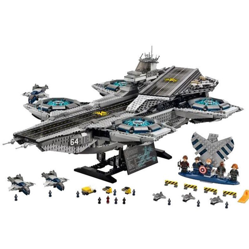 Super Heroes The Shield Helicarrier Model Building Kits Blocks Bricks Toys Compatible Legoings For Kids Educational Toys Gifts qigong legendary animal editon 2 chimaed super heroes building blocks bricks educational toys for children gift kids