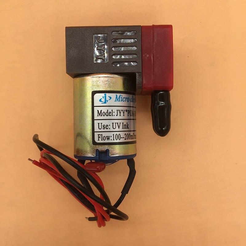 C 24V 3W 100 ~ 200 ml/min pour l'imprimante de Flora Infiniiti petite pompe à membrane micro de pompe d'encre UV originale de JYY PUA-10 pour l'air liquide