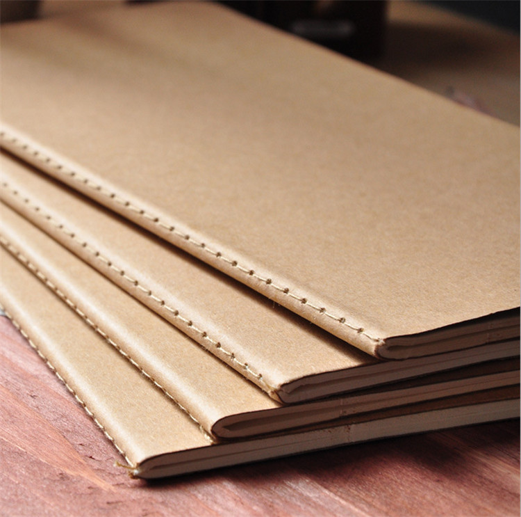 Aliexpress.Com : Buy 50 Pcs Cowhide Paper Notebook Blank Notepad