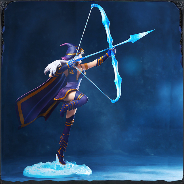 LOL League of Legends figure Action Game Ashe Model Toy action-figure 3D Game Heros anime party decor boy Creative Gift 2