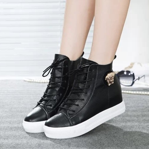 Thick soled casual sneakers|shoe boots