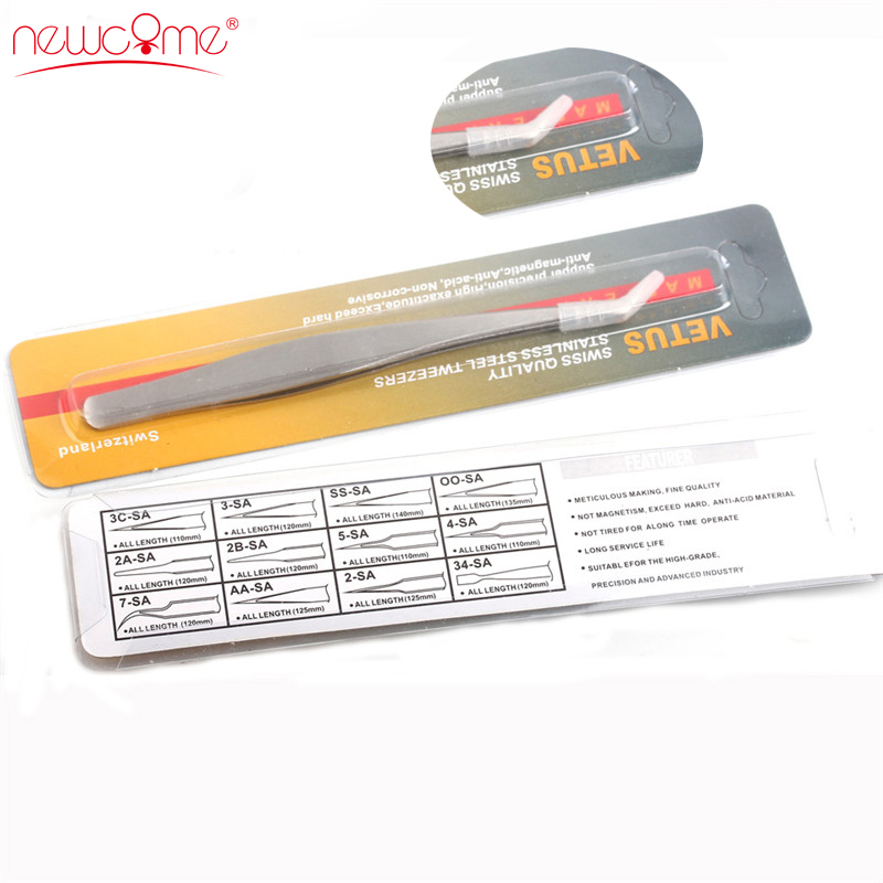 1/2/5pcs High Quality Curved Tweezers for Eyelash Extension <font><b>Eyebrow</b></font> <font><b>Stainless</b></font> <font><b>Steel</b></font> Face <font><b>Hair</b></font> <font><b>Removal</b></font> Professional Makeup Tools