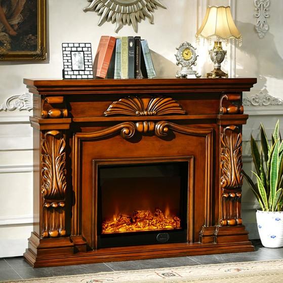 Chimenea de estilo ingl s set w160cm madera tallada repisa for Chimenea calefactora precio