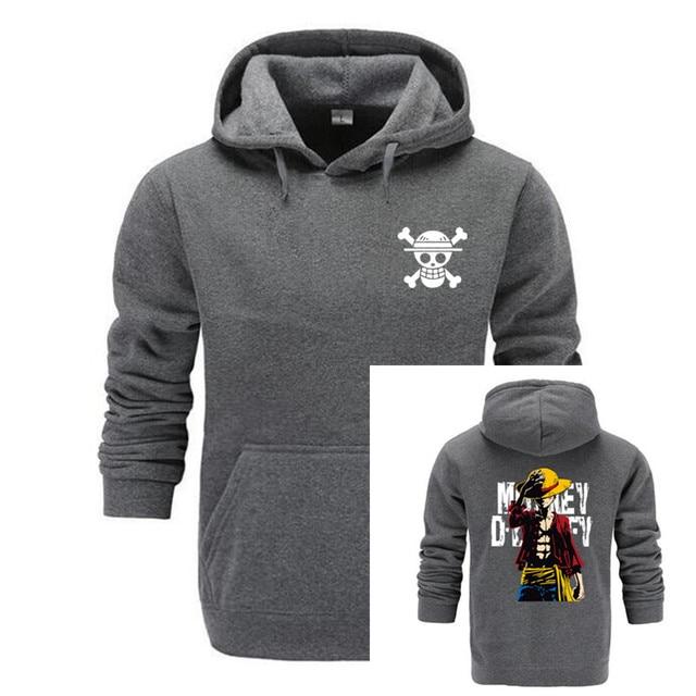 GVHHCK One Piece Skull Hoodie Hoodies Men Women 2018 New Fashion Hip Hop Pullover Sweatshirts Sweat Homme 3D Hoody Tops 1