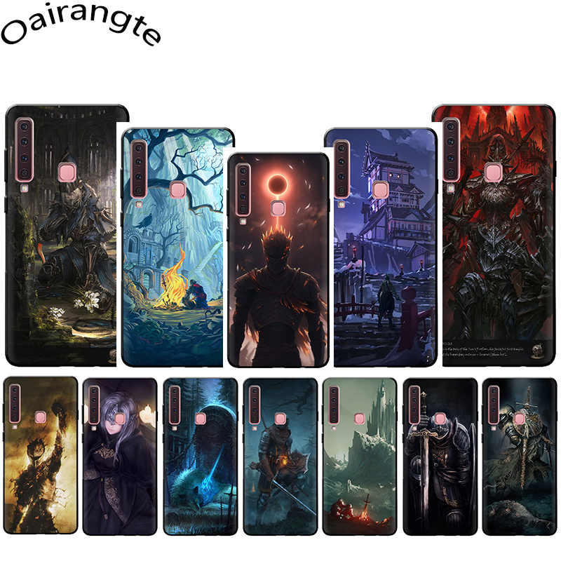 Dark souls Soft Phone Cover Case for Samsung Galaxy A5 A6 A7 A8 A9 A10S A20S A30S A40S A50S A60 A70 J6