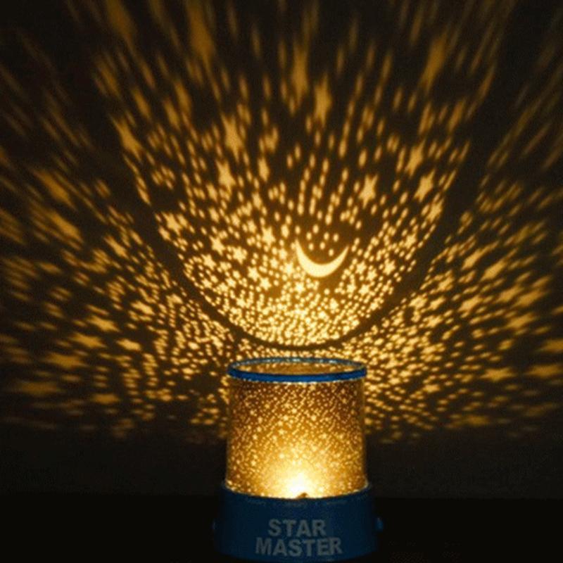 LED veilleuse enfant bébé veilleuse RGB lumière de scène ciel étoilé lampe luminaire veilleuse lampara luminaires nachtlampje