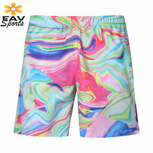 Swimming Beach Trunks Quick Drying Men Surfing Pants 3D Print Summer Swimming Shorts Pants Travel Surf Board Beachwear(China)
