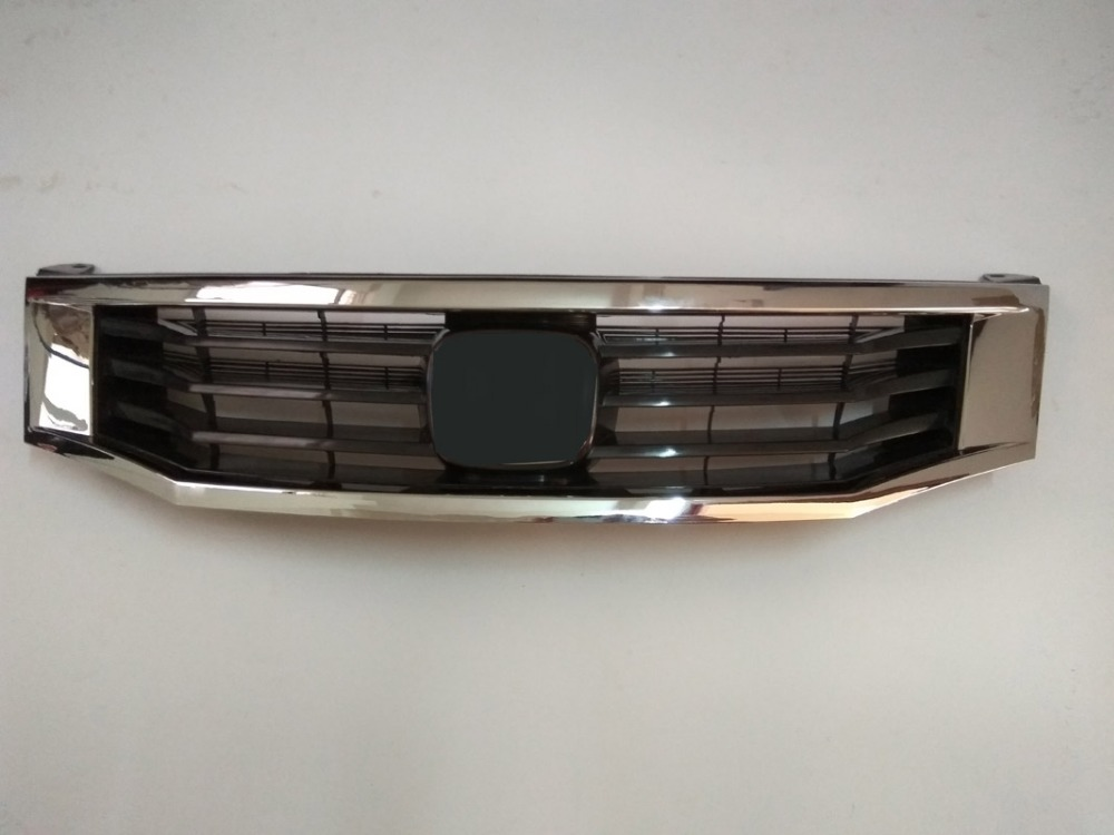 High quality For <font><b>Honda</b></font> <font><b>Accord</b></font> <font><b>2008</b></font>-2011 Perfect Match Front <font><b>Grills</b></font> Racing <font><b>Grills</b></font> image