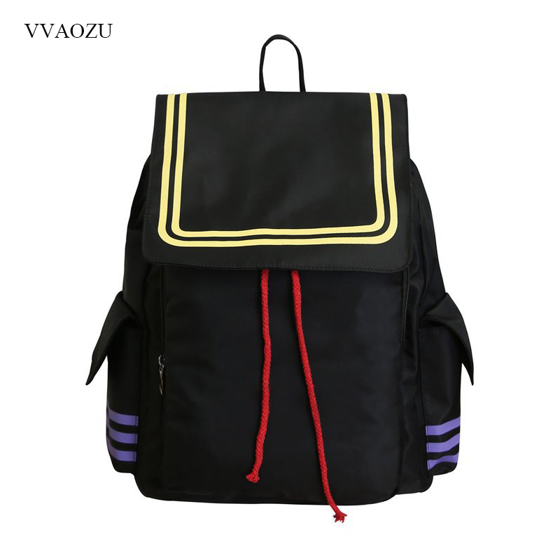 Anime Japanese Assassination Classroom Shoulder Bag Women Men Cool Drawstring Large Capacity Rucksack Laptop Schoolbag
