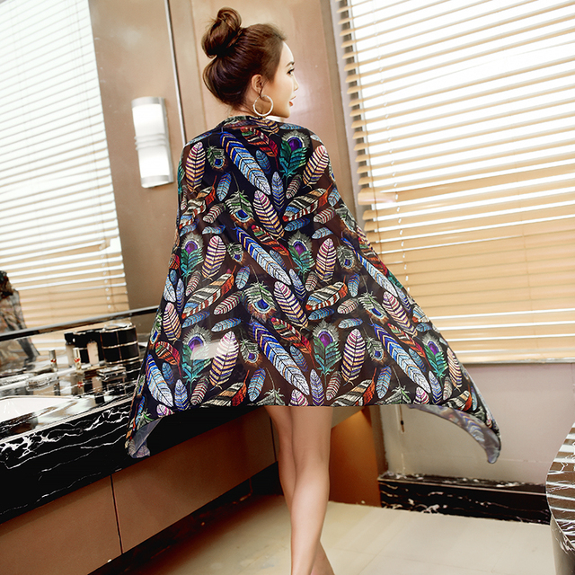 1b0314d07d Best Offers Leaves / Feathers Sea side Summer Dress Women Wrap Beach Cover- Ups Long