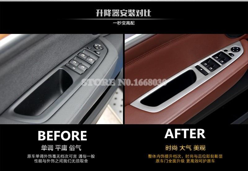 Stainless Steel Door Stereo Speaker Frame Cover Trim For Freelander 2 2007-2015