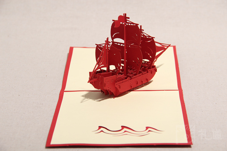 Home decor 2014 3d pirate ship corsair greeting cards blank card home decor 2014 3d pirate ship corsair greeting cards blank card postcard handmade 3d greeting sea rover travel postcards on aliexpress alibaba group m4hsunfo