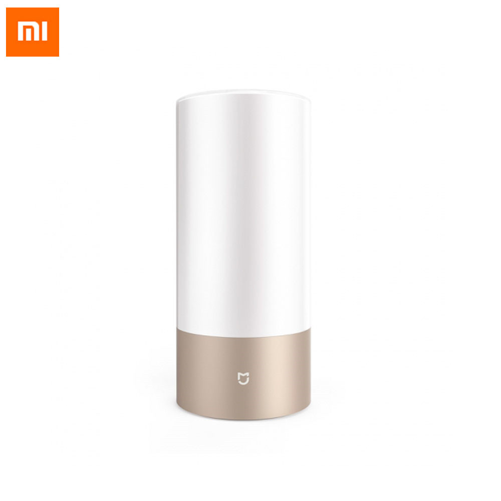 Original Xiaomi Mijia Bedside Lamp Smart Wireless Remote Control By Wifi Bluetooth Dual Mode RGB Colorful Lamp For Phones