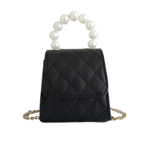 Crossbody Bag For Women With Pearl hand-held - Small & Lightweight Purse shoulder bag For Everyday