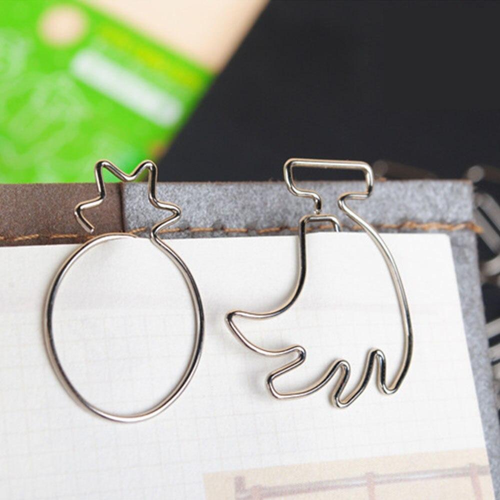 Aliexpress.com : Buy 10pieces/lot Metal Paper Clip ...