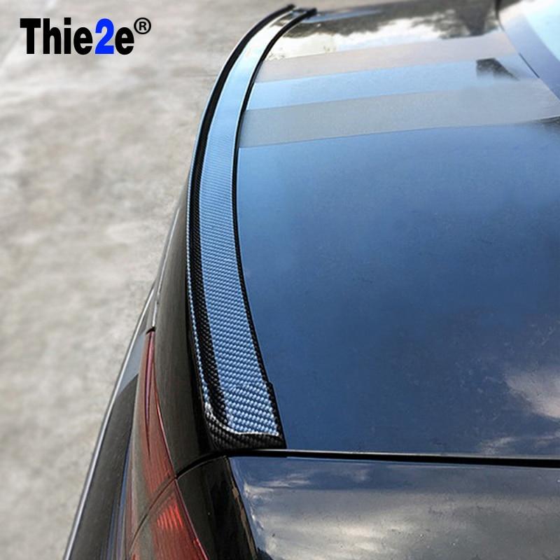 Auto Carbon Achterspoiler Wing Voor Peugeot 307 206 308 407 207 2008 3008 508 406 208 Voor Citroen C4 C5 C3 C2 Accessoires
