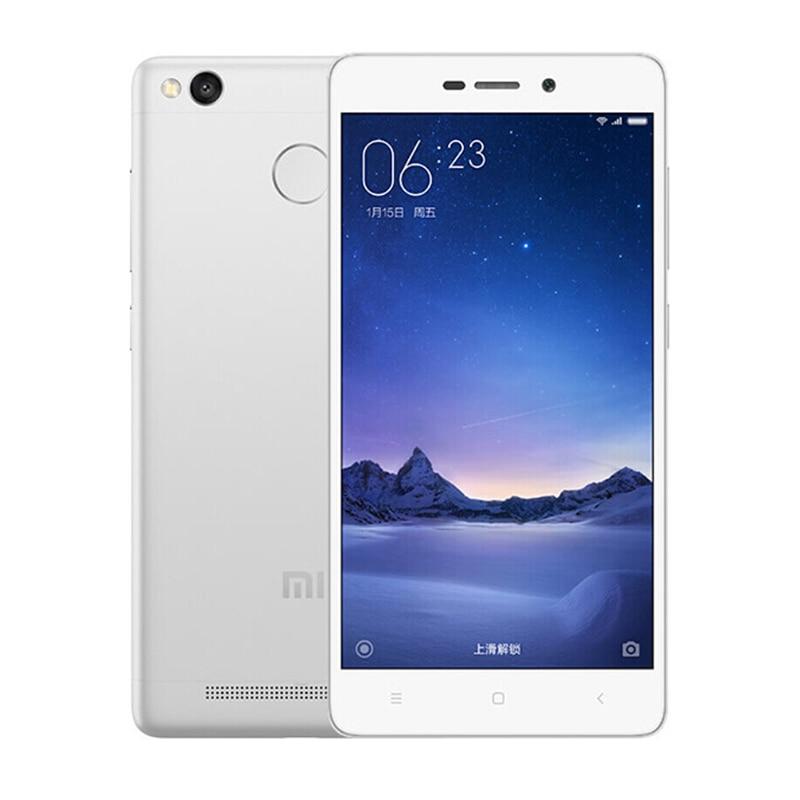 "Original Xiaomi Redmi 3S Mobile Phone Snapdragon 430 Octa Core 5"" HD 2GB RAM 16GB ROM Fingerprint ID 13MP Camera 4100mAh 4G FDD"