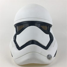 Star Wars Force Awakens Stormtrooper Cosplay PVC Hjälm Vuxenparty Halloween Mask Deluxe