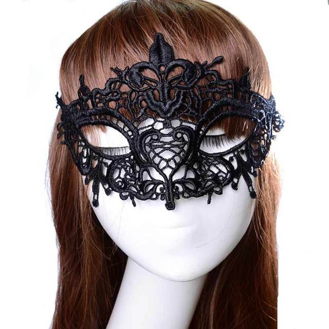 1Pcs Mascaras Venecianas Masque Sexy Masquerade Masks Female Black ...