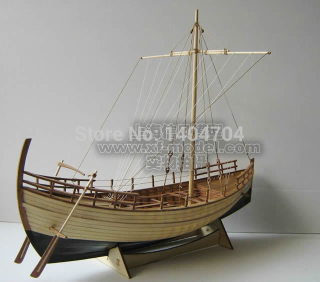 NIDALE Model Greece Ancient ship wooden SC Model Scale 1 48 Kyrenia merchant ship Kit include