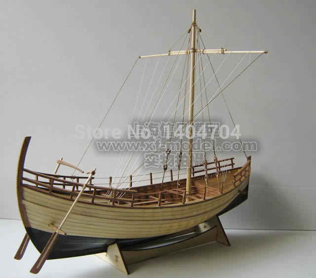 NIDALE Model Greece Ancient ship wooden SC Model Scale 1/48 Kyrenia merchant ship Kit include English instruction