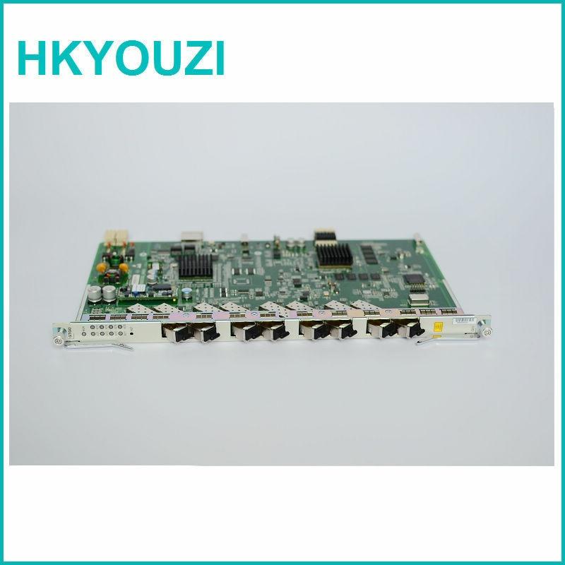 ZXA10 C320 və C300 OLT üçün GTGOG C + 8 port GPON OLT xətt - Rabitə avadanlıqları