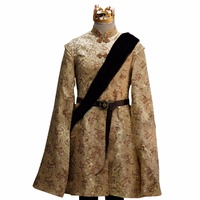 2017 Game of Thrones King Prince Joffrey Baratheon Medieval Mens Cosplay Costume
