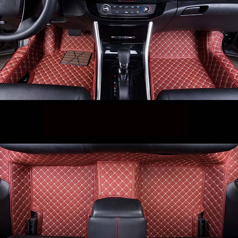 все цены на Auto car carpet foot floor mats For fiat 500x accessories albea 500l freemont palio punto bravo stilo grande panda car mats онлайн