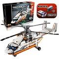 Lepin 20002 Técnica Heavy Lift Helicóptero Avión Ladrillos de Construcción, Bloques Establece Juguetes Regalo de año Nuevo para Los Niños Boy ecudational 42052