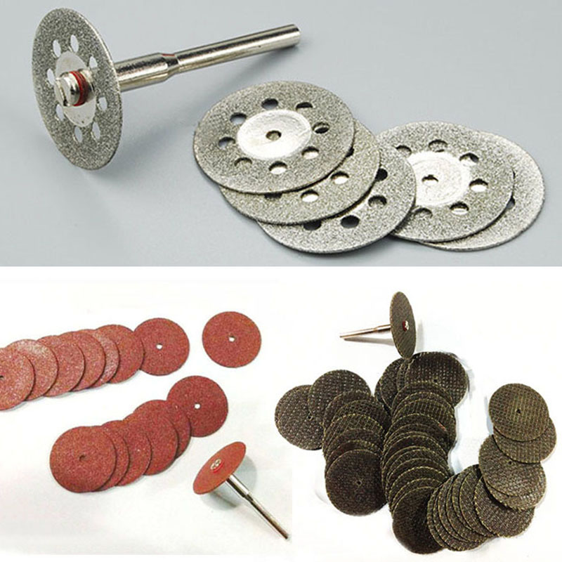 55 sztuk diamentowa tarcza tnąca ściernica ściernica tarczowa piła do obróbki drewna metal dremel mini wiertarka narzędzia obrotowe akcesoria