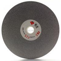 5 Inch 125mm Quality Electroplated Diamond Coated Flat Lap Disk Grinding Polishing Wheel Grit 180 Medium