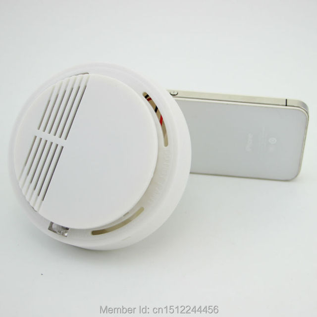 Wireless Smoke/fire Detector smoke alarm for Wireless For Wireless Home Security Auto Dial Alarm System Smog Sensor